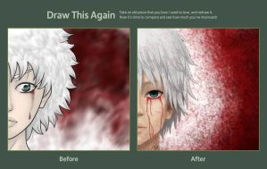 Killua - Before and After by Giugiu-chan