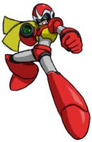 Protoman X by QueenMomi-chan