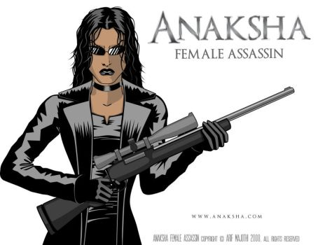 Anaksha With Rifle by arif-rocks