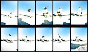 Noseslide nolliebigspin out by Kutsuu83