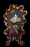   Her Throne of Chocolate   by SimplyBrillig