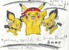 PIKACHU AND THE PICHU PIRATES by Bluedragon85