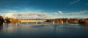 Oulu panorama by DominikaAniola