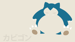 Snorlax by DannyMyBrother