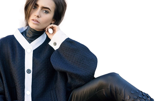 Png ft. Lily Collins by Andie-Mikaelson