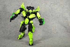 Toxin: Hero Factory MOC by welcometothedarksyde