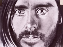 Jared Leto Graphite by jonsink