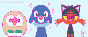#3: Popplio! by AWildWeavile