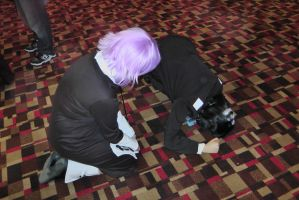 ((OOC)) Crona Tries to help Kid...? lol (COSPLAY) by Ask-CronaMakenshi
