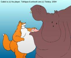 Caleb and Tolhippo 2 by Tolstoy