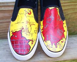 Science Shoes by ChumpShoes