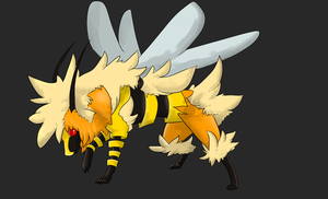 Arcanbee: fire/bug by TheBlazingK