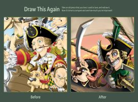 Draw this Again - Baron Munchausen by DarkJimbo