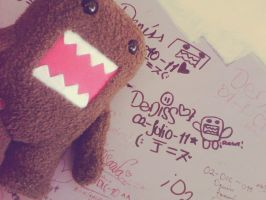 Domo, one year. by Utsutsu-chi