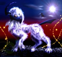 Detailed Absol by Jade-Viper