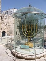 A replica of the Menorah by Hermione75