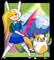 Fionna and Cake by dahhez