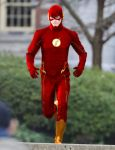 CW The Flash Suit re-colour by stick-man-11