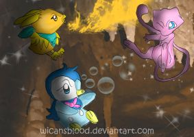 Team Sunrise V Mew by WicansBlood