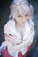 Frozen, Final Fantasy xxiii cosplay by Cosmic-Empress