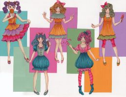 CandyLand Princesses by kiero