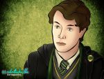 Tom Riddle by colortheskiesblue