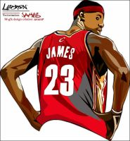 Lebron james by Mgfx-design