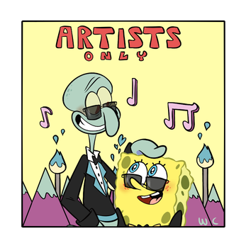 Artist only (Squidbob version) by Waackery