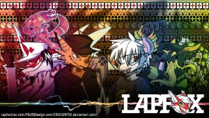 Lapfox Crew Wallpaper 2: The Revenge by CR4CK3RFOX
