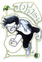Kyle Rayner Playing Card by AdamWithers