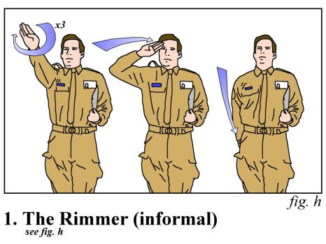 Red Dwarf - Rimmer salute by squirminator2k