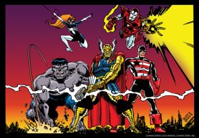 Marvel 1984 by scottreed