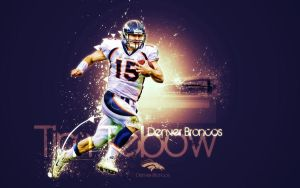 Tim Tebow by Blondiee79