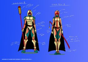 Roler Soldiers Sketch colour by JFRteam