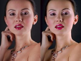 Before and After Retouch 1 by ale2xan2dra