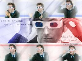 The Doctor's 3D Glasses by emmatheawesome