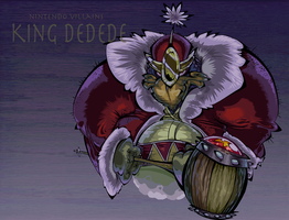Nintendo Villains - King Dedede by BrendanCorris