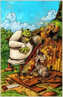 Shrek Comic 4: Cover. by RoloMallada