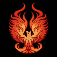 Fire Bird T-Shirt by mollygrue