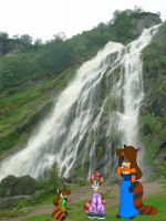 Waterfall pic to caption by Jeffyraccoon
