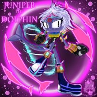 Juniper the Dolphin Sonic Form by wolfs-rain-amanda