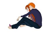 Ichigo and Orihime by Narusailor