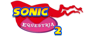 Sonic  Equesria 2 logo by Snicketbar