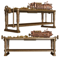 Steampunk Workbench by Roys-Art
