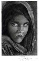 afghan girl by beckhanson