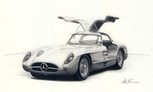 Mercedes 300 SLR coupe by klem