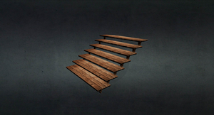 Game Models  - 'Village Wooden Stairs' by xelawebdev