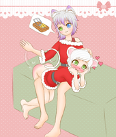 A Christmas Game Pt. 1 (Comish, Spanking content) by Pastel-Hime