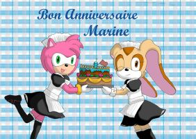 Gift : Happy birthday Marine by daisy4ever1997