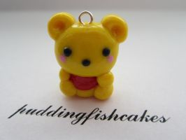 Baby Winnie the Pooh Charm by puddingfishcakes